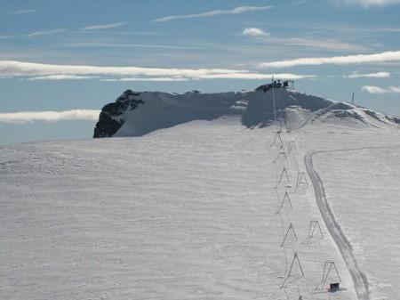 Apertura impianti sci estivo a Cervinia